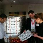Spotkanie z jednym z dystrybutorów – Dubai Fruit & Vegetable Market