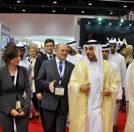 Marek Sawicki, the Polish Minister of Agriculture and Rural Development, visited the UAE on 23-27 November 2014, accompanied by a delegation of Polish officials and agricultural industry representatives. Weronika Tomaszewska-Collins assisted his as an interpreter during official meetings and at the SIAL Middle East exhibition.