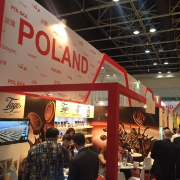 Polish pavillion at Gulfood